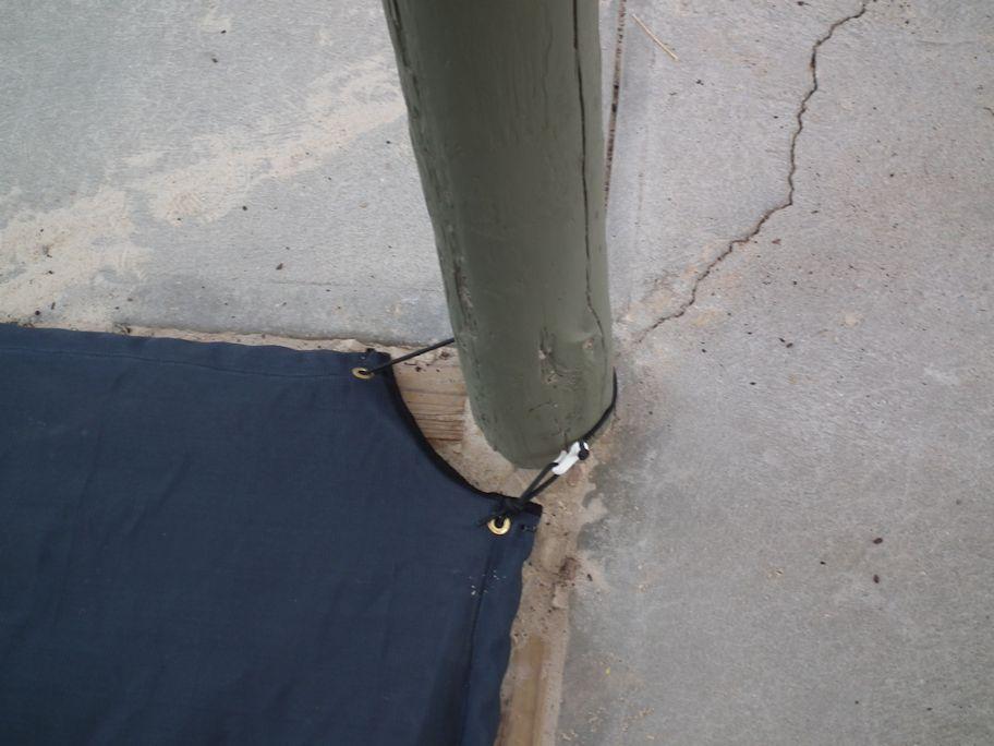 Sandpit Cover Post