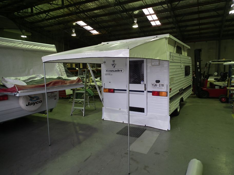 Rear Door Bag Awning Adelaide Annexe Amp Canvas