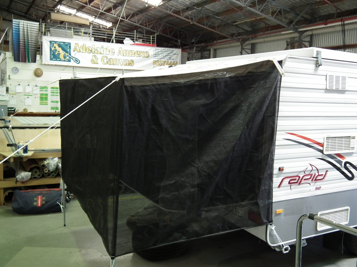 Bag Bed Ends with Mesh Walls