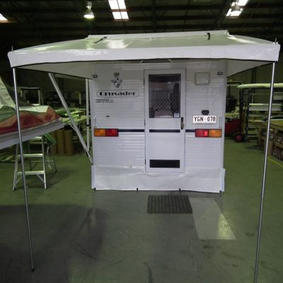 Rear Door Bag Awning