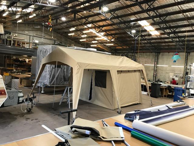 Custom Glamping Tent