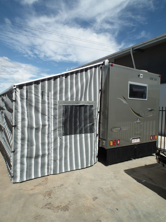 Motorhome Roll Out Awning Walls Adelaide Annexe Amp Canvas