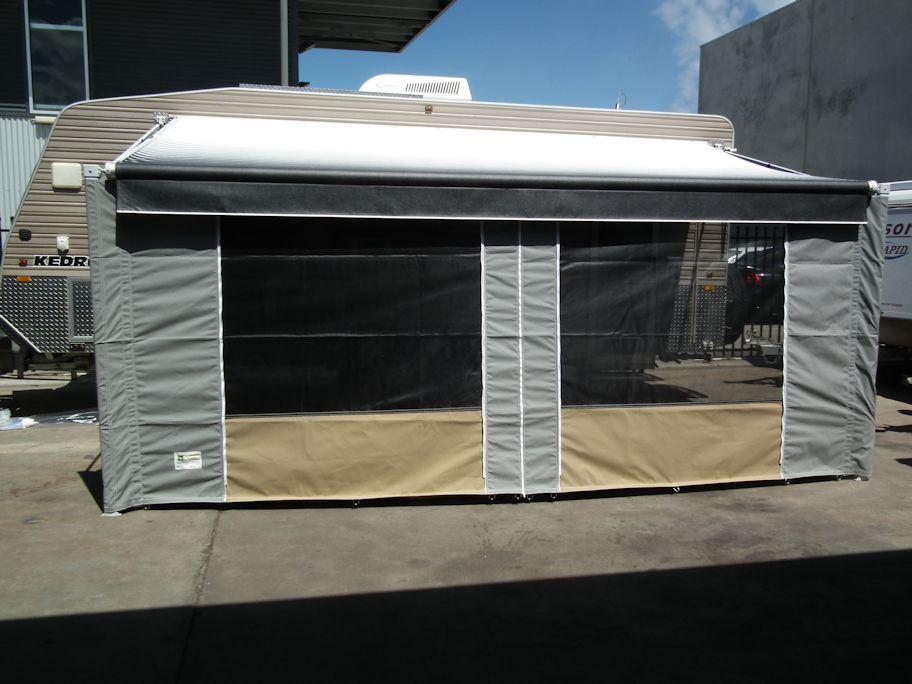 Caravan Roll Out Awning Walls Adelaide Annexe Amp Canvas