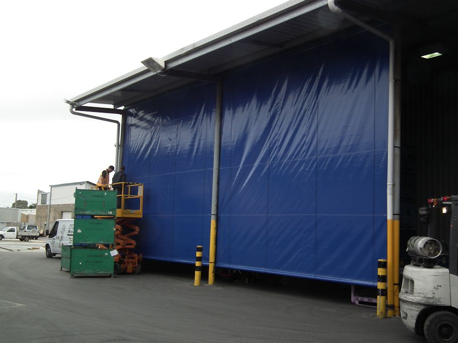 Industrial Blinds