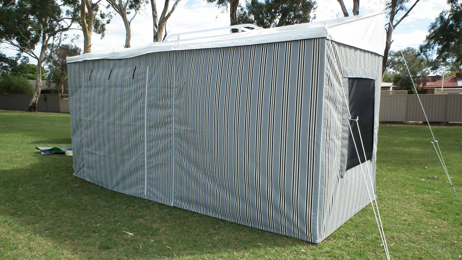 Bag Awning Extension Awning Walls Adelaide Annexe Amp Canvas