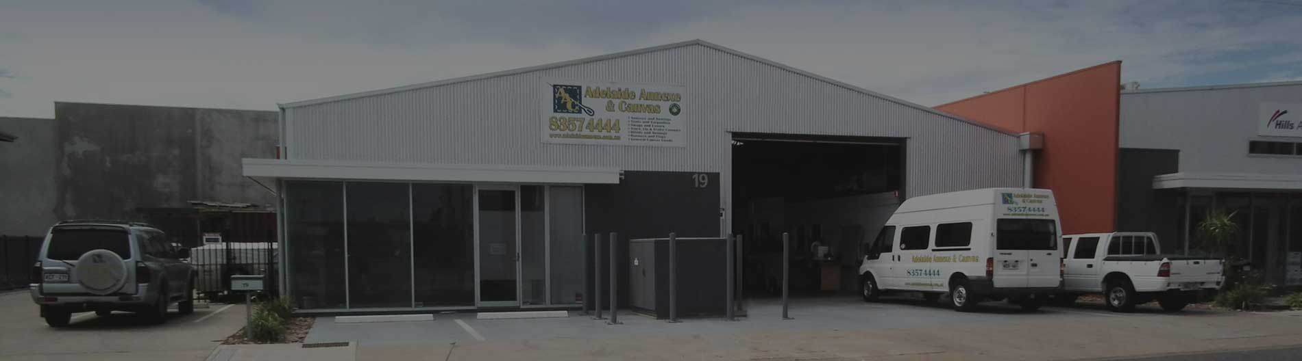 Adelaide Annexe Shop Front