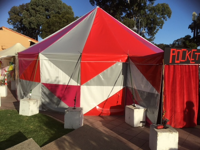 The Pocket Tent Adelaide Fringe